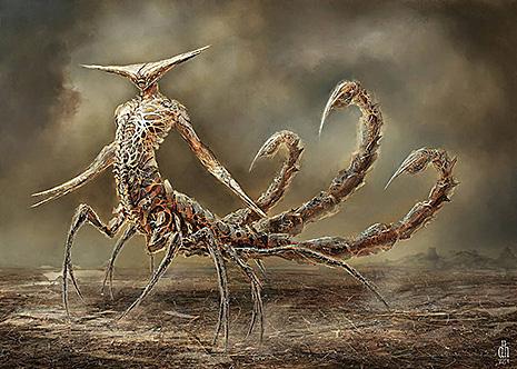 12 знаков Зодиака в образах чудовищных монстров (фото 8)