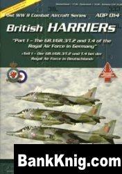 Книга British Harriers (1) [Post WWII Combat Aircraft Series (ADP) 14] pdf 52,7Мб