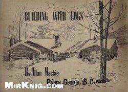 Книга Building with logs