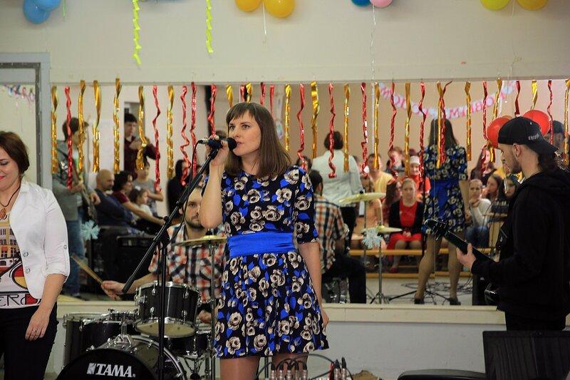 Новый год и отчётный концерт в школе рока