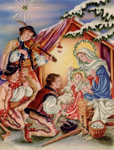 Днем, польские открытки с рождеством христовым