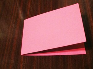 Валентинка-открытка с вышивкой