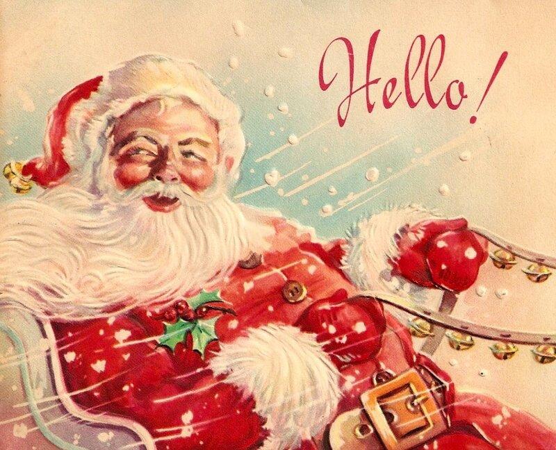 Американские открытки новым годом, смешные