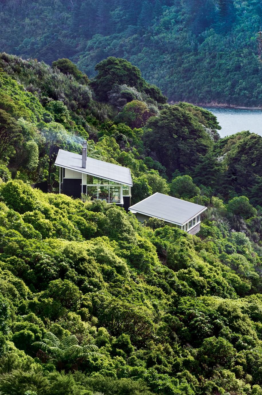 Захватывающий вид из окон в Новой Зеландии