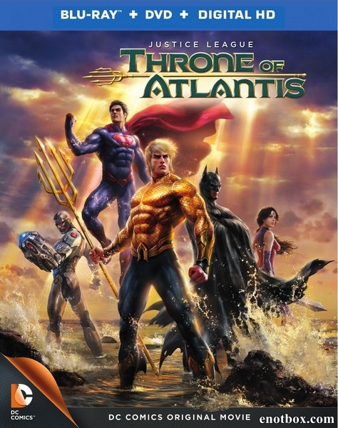 Лига Справедливости: Трон Атлантиды / Justice League: Throne of Atlantis (2015/BDRip/HDRip)