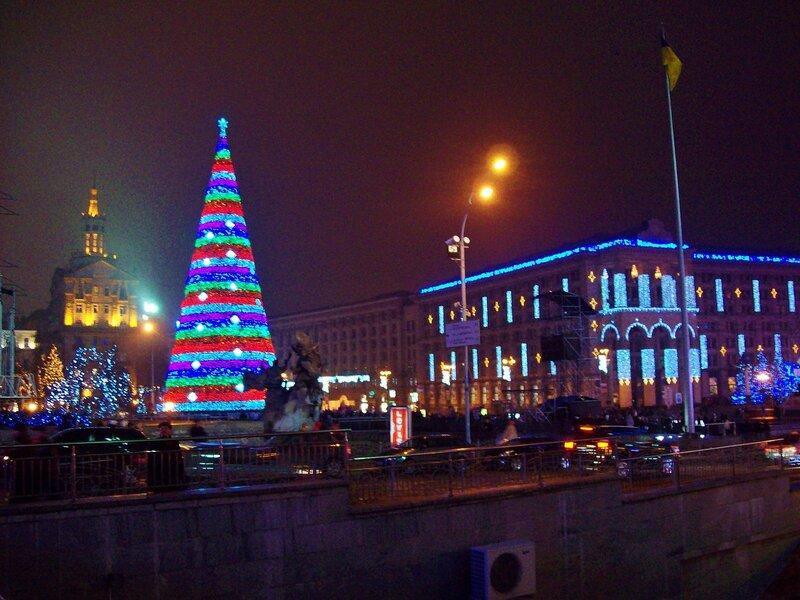 Новогодний Майдан