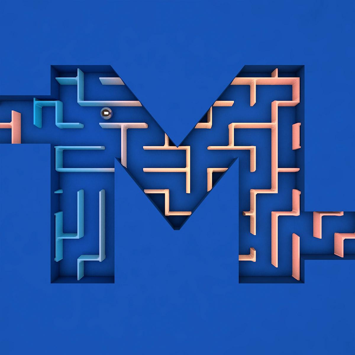 Creative Typography by Anna Zinovieva