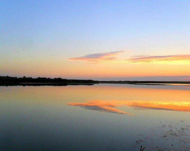 На закате, река ... SAM_3407.JPG