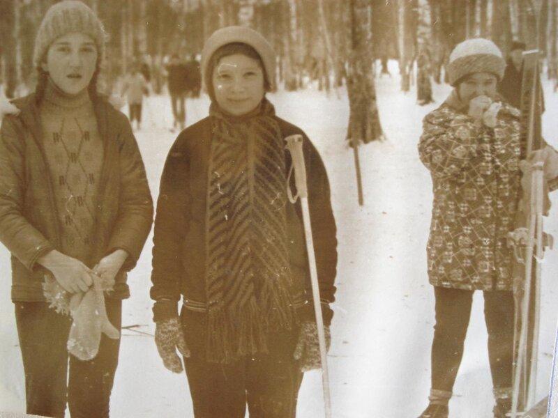 Зимой в Томске на южной