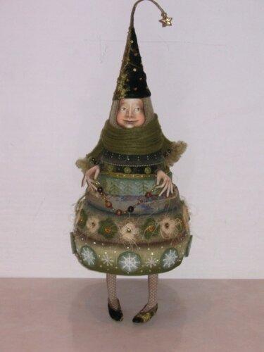 Анна Зуева. Куклы-елки