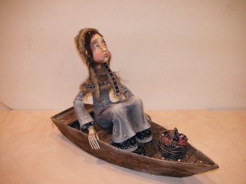 Северная река – авторская кукла Анны Зуевой