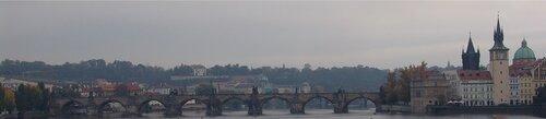 Пасмурная Прага