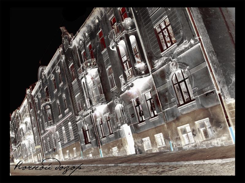 Здание ночного дозора во Львове