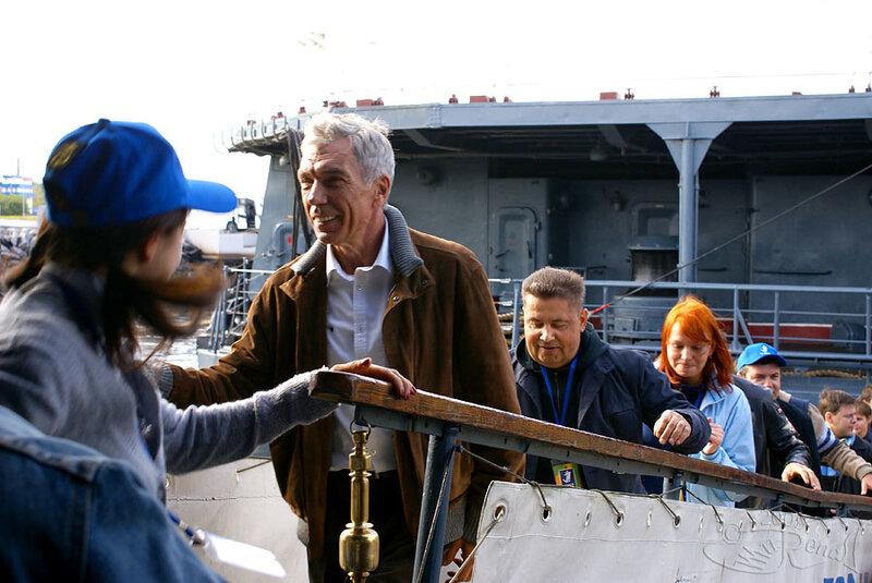 Посещение кораблей