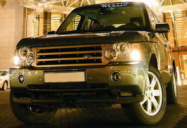 Тест-драйв Range Rover Vogue