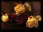Букет увядших роз...