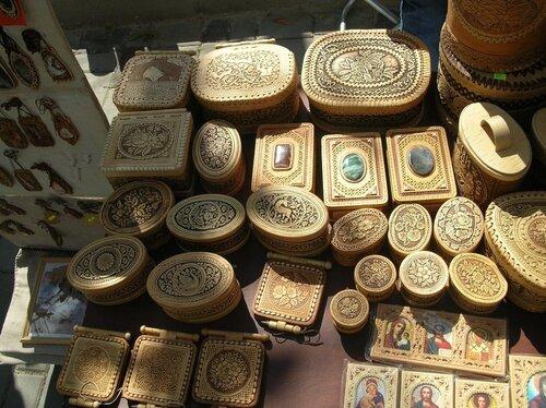 Набережная - Изделия из бересты (шкатулки с камнями)