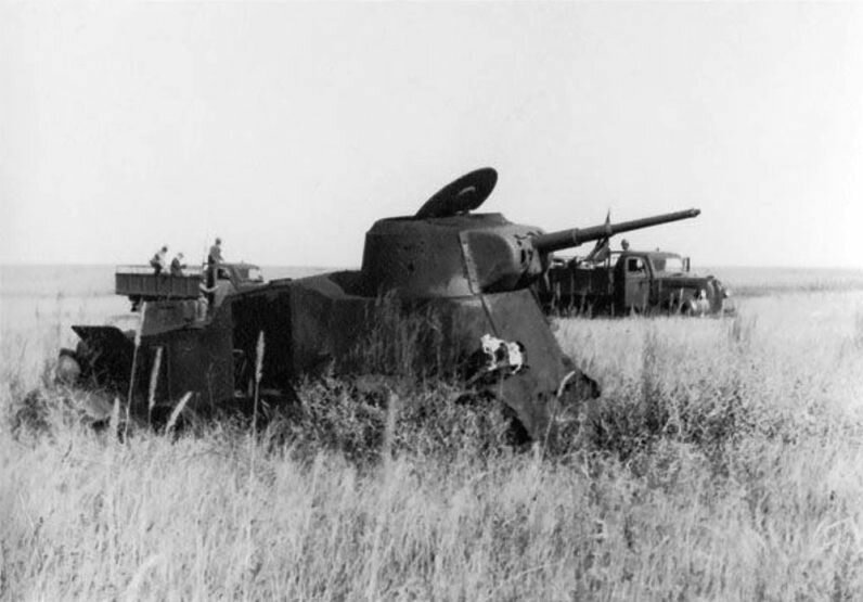 Бронеавтомобиль БА-10 уничтоженный в р-не Халхин-Гола.