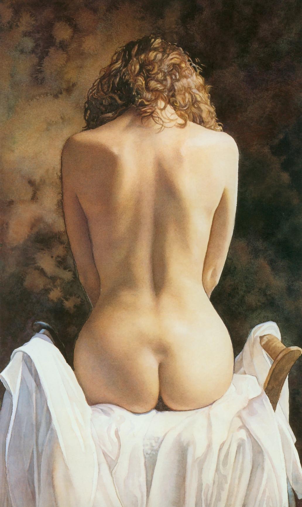 Фото голая спина дамы 10 фотография