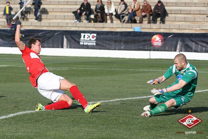 "Copa del Sol 2012. ""Спартак"" - ""Мольде"" 3:0"