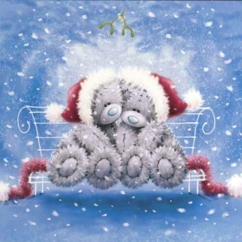 Зимние открытки для любимого