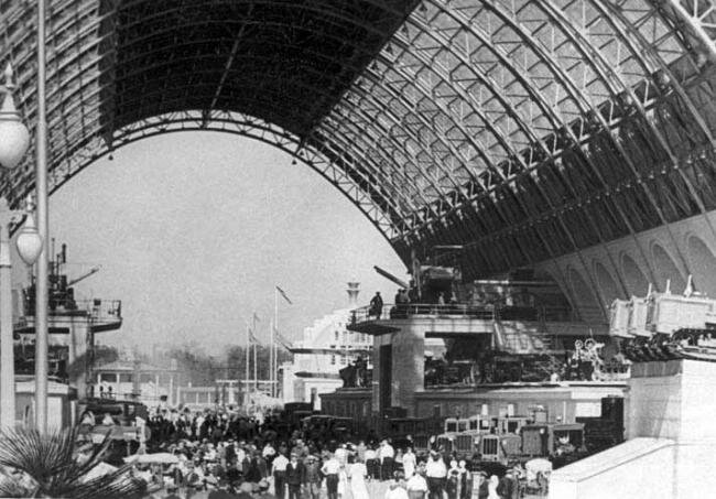 Павильон Механизация и электрификация сельского хозяйства СССР, 1939-1941 гг.