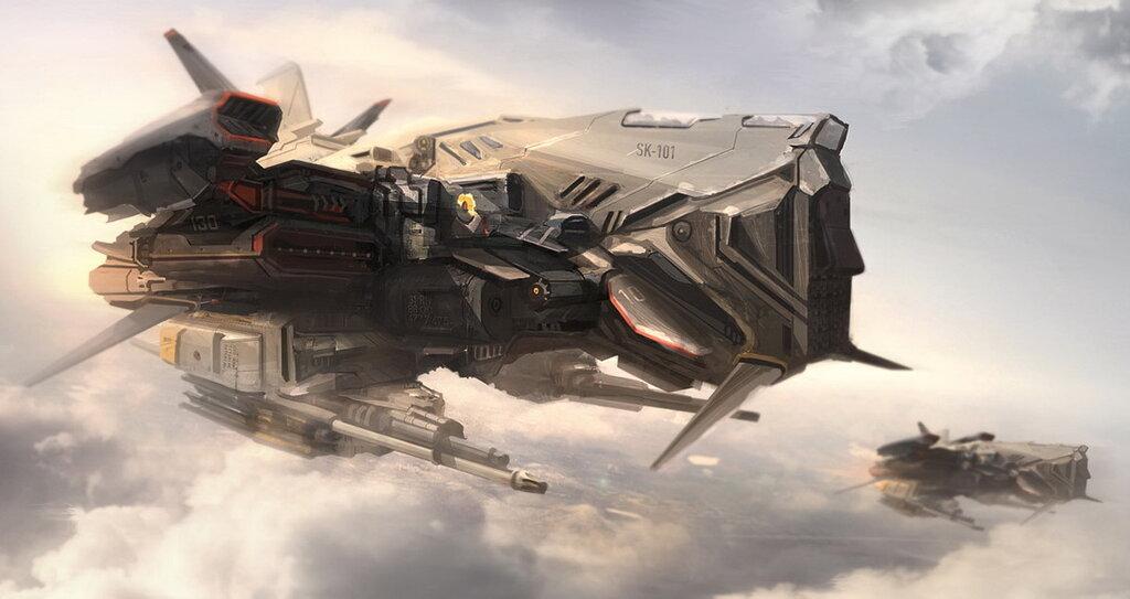техника военная будущего картинки