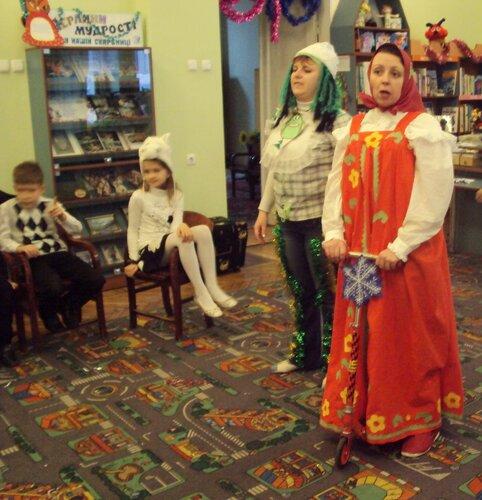 Новости нашего отдела, новый год, новогодний утренник в детской библиотеке, новый год с Лунтиком