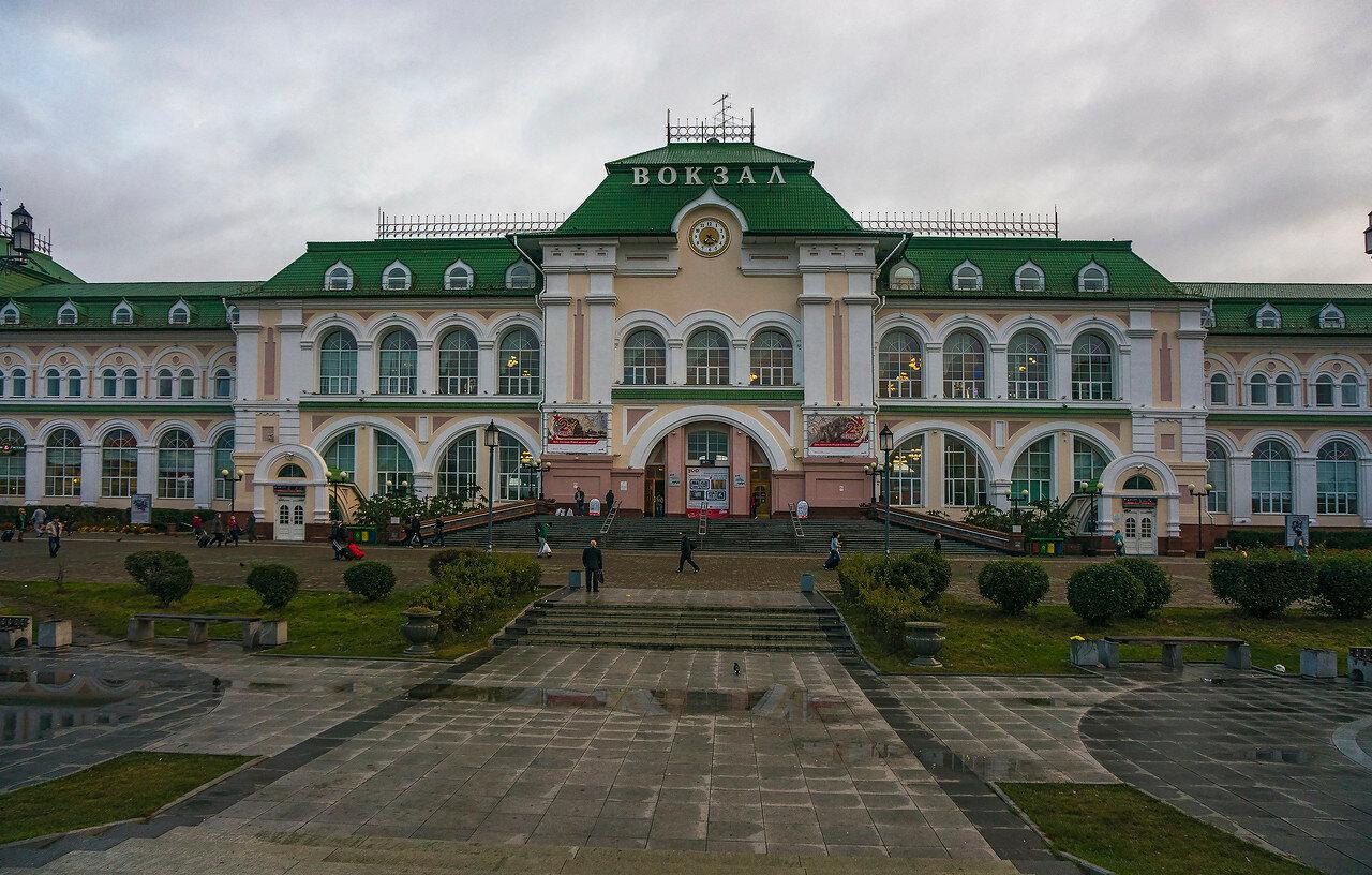 Фото вокзал хабаровск