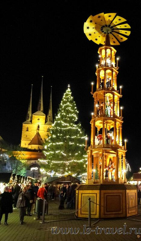 Эрфурт. Рождественская ярмарка