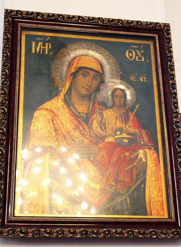 """Икона """"Иерусалимская  Богородица"""""""