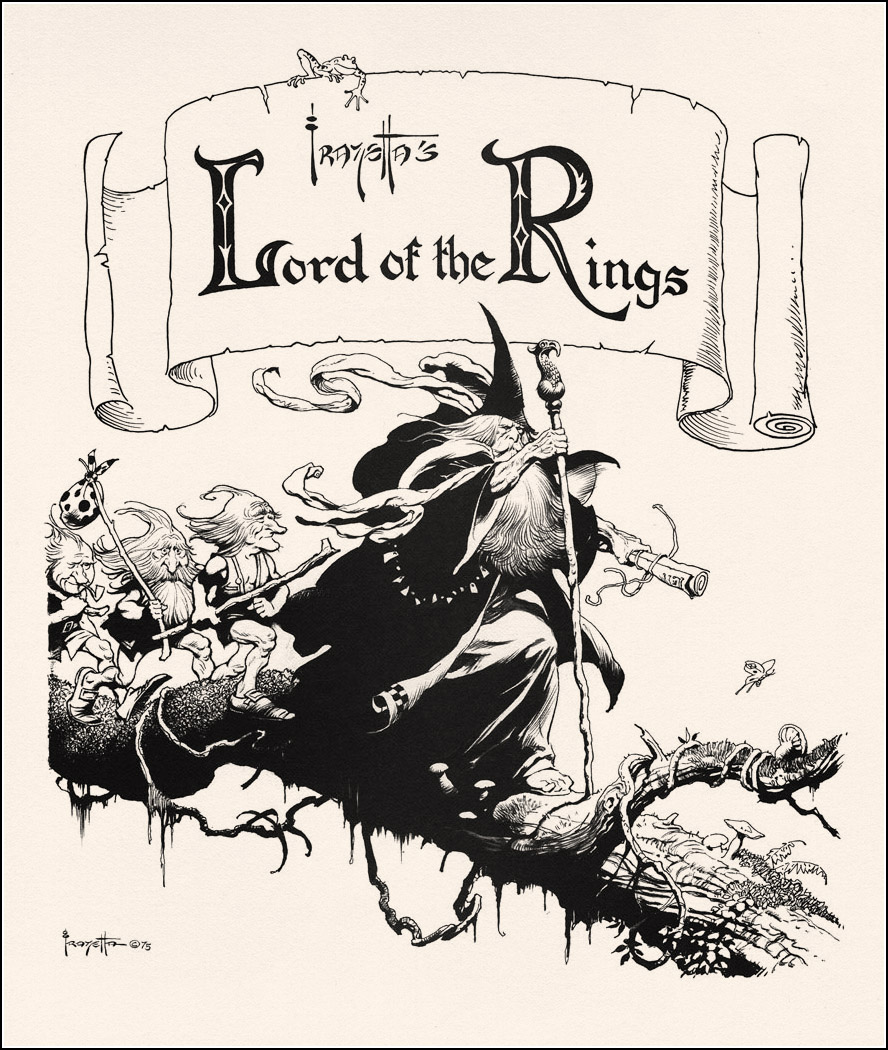 Frank Frazetta. Lord of the Rings
