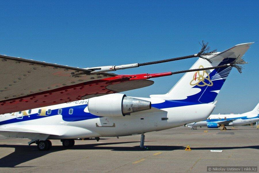 Крыло Ту-134