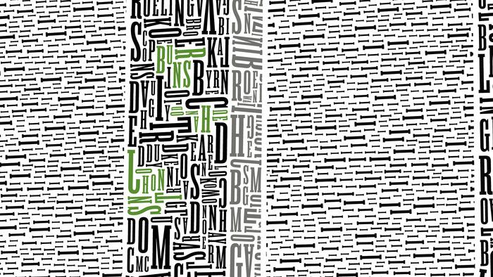 Памятники культуры и истории в типографике. Дизайнер Cameron Moll