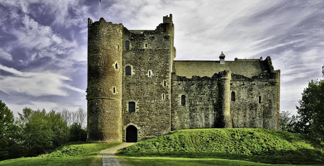 Уинтерфелл Замок Дун, Стерлинг, Шотландия