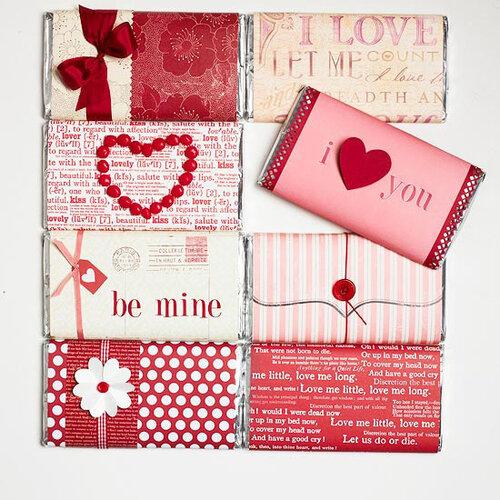 Упаковка для подарка в День святого Валентина