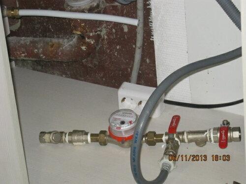Подготовлена гирлянда для временного подключения стиральной машины
