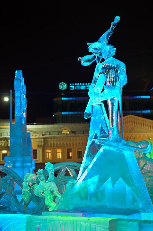 Фотография 5. Камера Nikon D5100 с линзой Nikkor 17-55/2.8. Ну, Погоди!.. на Ледовом городке в Екатеринбурге