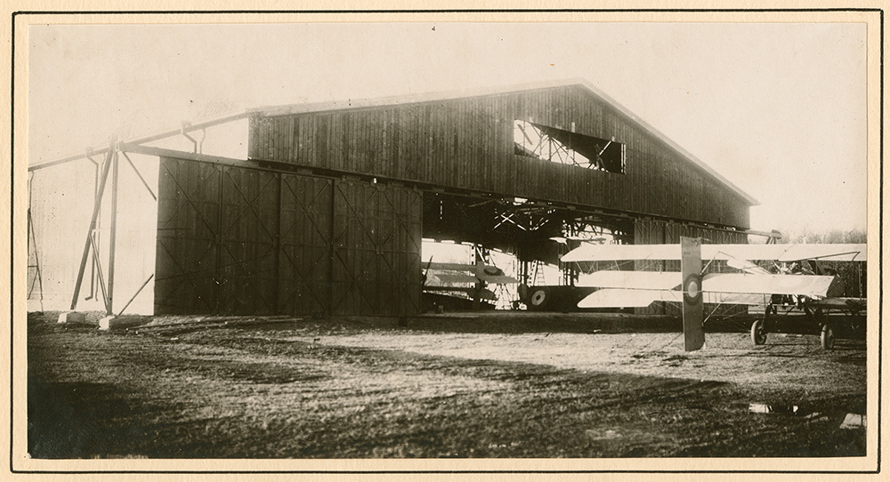 Captured Russian Air Force biplanes at the Post-Volynsky Aerodome.jpg