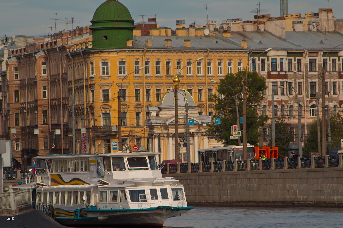 угол Большого проспекта Петроградской Стороны и ул. Блохина