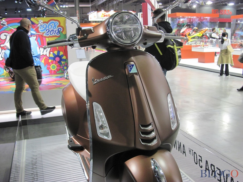 EICMA 2017:  скутеры Vespa Primavera 2018