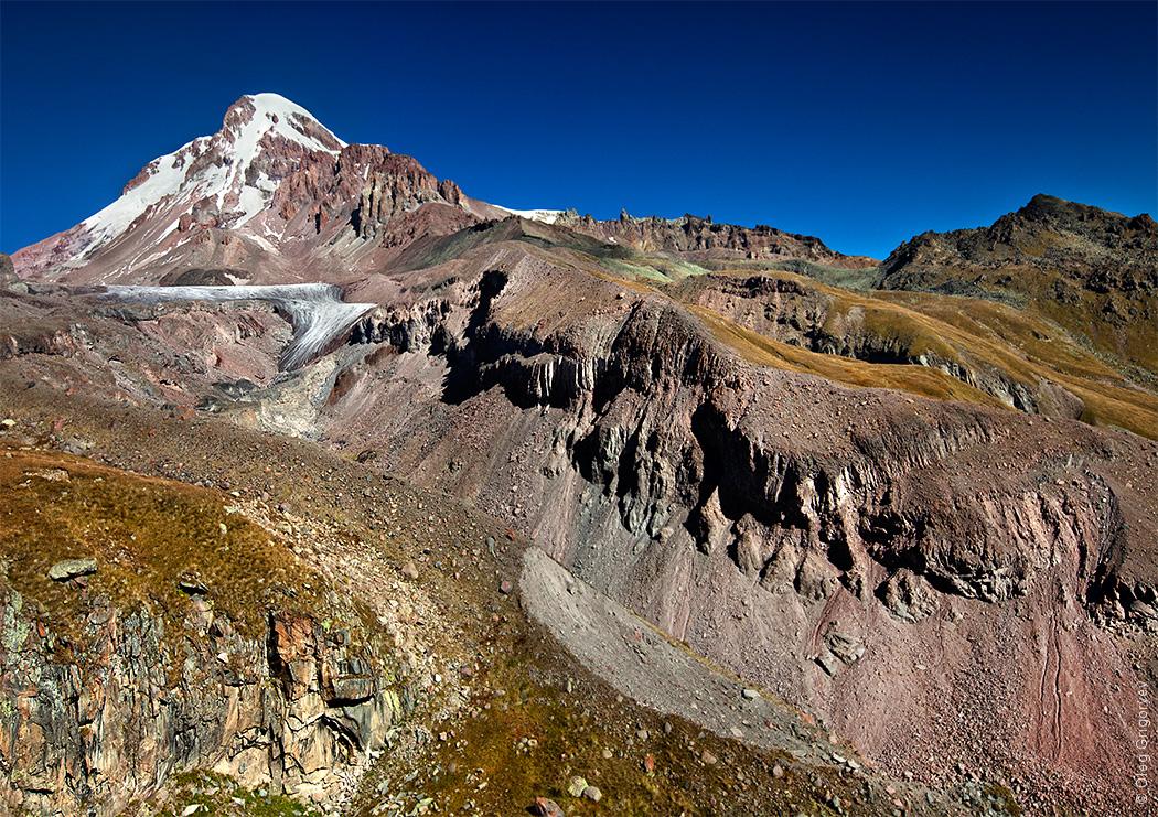 фотография горы Казбек