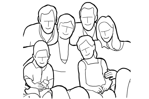 Позирование: позы для групповых портретов 12