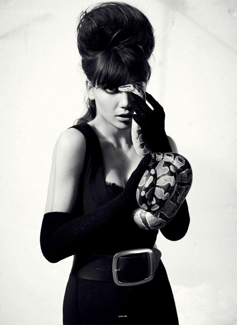модель Дейзи Лоу / Daisy Lowe, фотограф Will Davidson