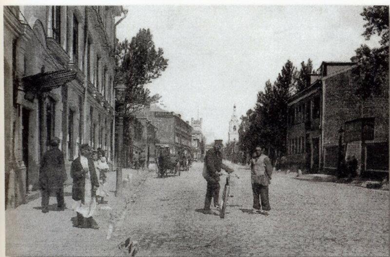 63144 Сущёвская улица от дома Российского страхового общества 1900-е от дома 9.jpg
