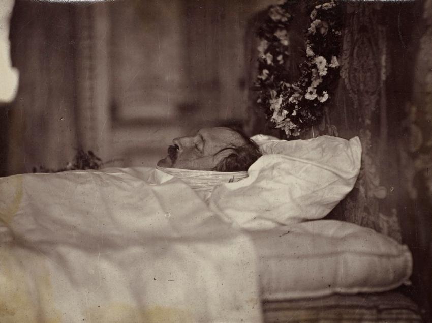 Принц Альберт на смертном одре, декабрь 1861  16 декабря 1861