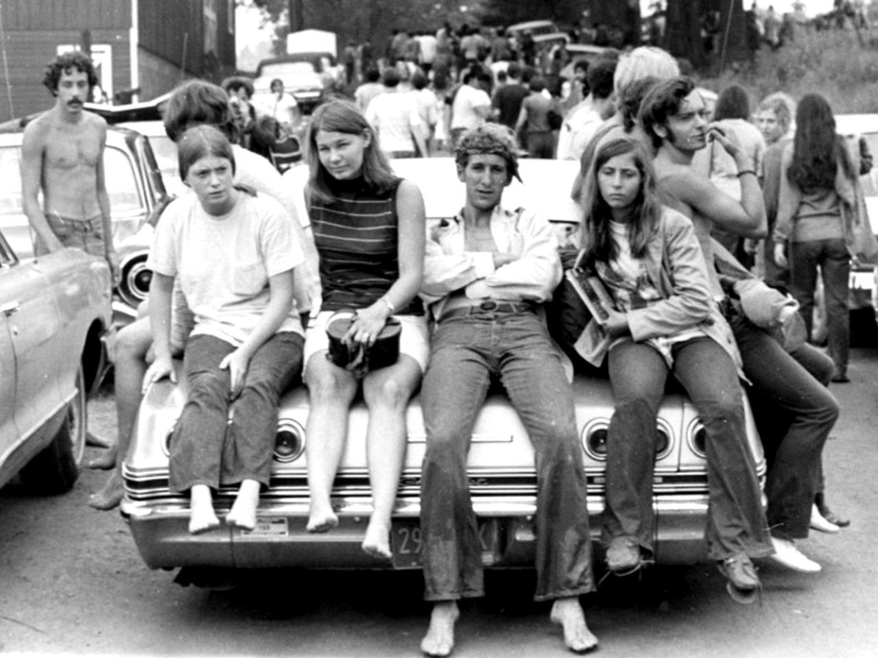 1969. По дороге в Вудсток