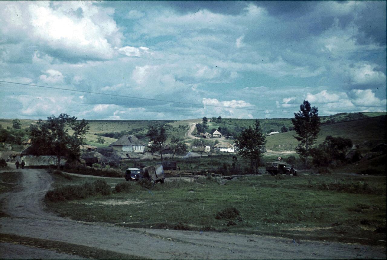 Оккупированное село в Белгородской области