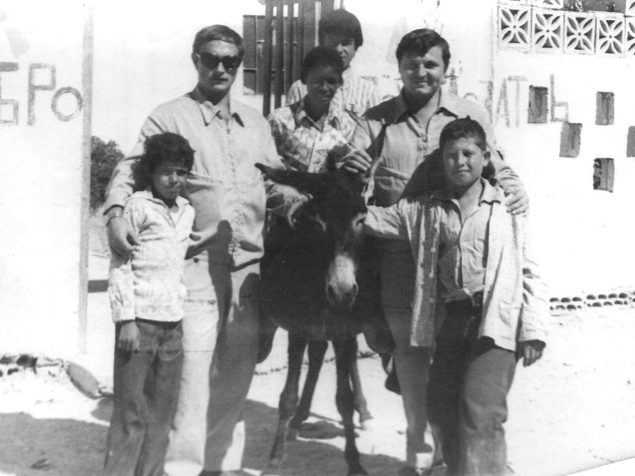 Сирия. Саксонов и Слободяник у дома Сулеймана