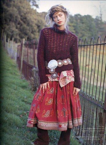 Вязание на спицах Knitting.  СТИЛИ.  СЕЗОНЫ.  Предыдущая.
